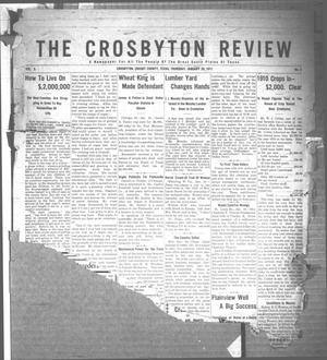Primary view of object titled 'The Crosbyton Review. (Crosbyton, Tex.), Vol. 3, No. 4, Ed. 1 Thursday, January 26, 1911'.