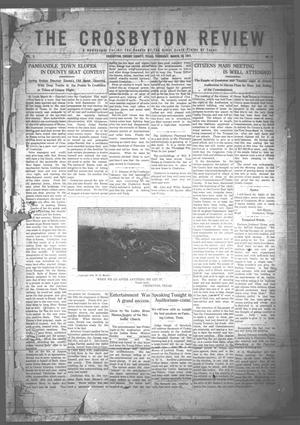 Primary view of object titled 'The Crosbyton Review. (Crosbyton, Tex.), Vol. 3, No. 13, Ed. 1 Thursday, March 30, 1911'.