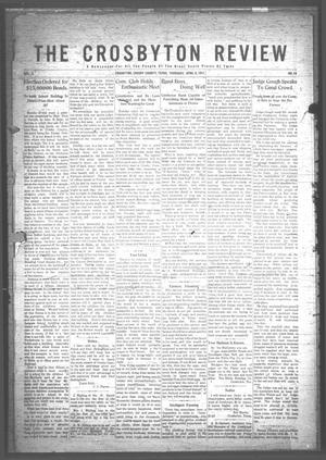 The Crosbyton Review. (Crosbyton, Tex.), Vol. 3, No. 14, Ed. 1 Thursday, April 6, 1911
