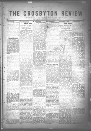 The Crosbyton Review. (Crosbyton, Tex.), Vol. 8, No. 6, Ed. 1 Friday, February 18, 1916