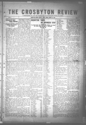 The Crosbyton Review. (Crosbyton, Tex.), Vol. 8, No. 9, Ed. 1 Friday, March 10, 1916