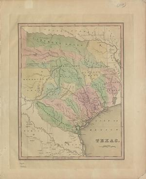 Primary view of object titled 'Texas / by T.G. Bradford ; engraved by G.W. Boynton.'.