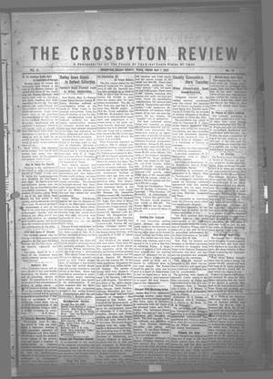 The Crosbyton Review. (Crosbyton, Tex.), Vol. 12, No. 18, Ed. 1 Friday, May 7, 1920