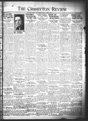 The Crosbyton Review. (Crosbyton, Tex.), Vol. 32, No. 9, Ed. 1 Friday, March 1, 1940