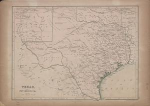 Primary view of object titled 'Texas, part of New Mexico and c. / drawn and engraved by J. Bartholomew'.