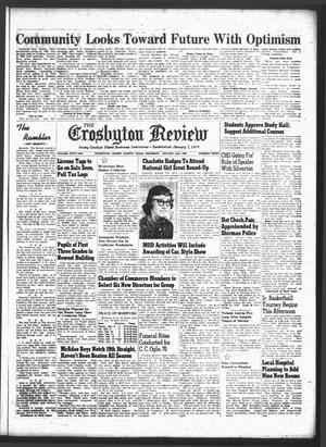 The Crosbyton Review. (Crosbyton, Tex.), Vol. 51, No. 3, Ed. 1 Thursday, January 15, 1959
