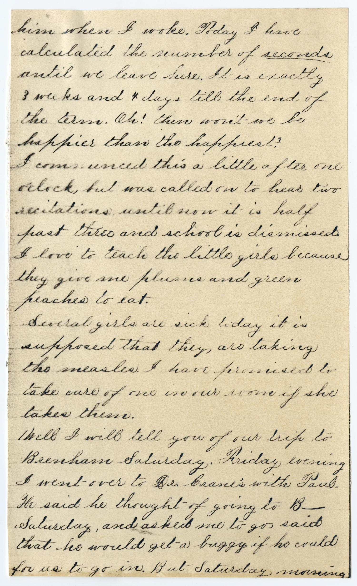 [Letter from Gertrude Osterhout to Junia Roberts Osterhout, May 16, 1881]                                                                                                      [Sequence #]: 3 of 8