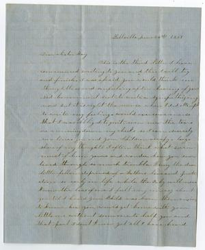[Letter from Junia Roberts Osterhout to Mary Roberts, June 24, 1859]
