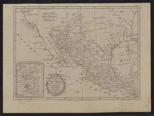 Primary view of Mexico, or, New Spain : in which the motion of Cortes may be traced / for the Rev. Dr. Robertson's History of America by Thos. Kitchin Senr., hydrographer to His Majesty.