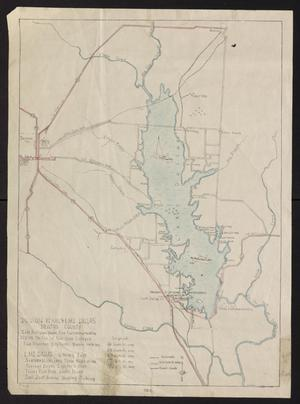 Primary view of object titled 'Denton Texas & Lake Dallas, Denton County.'.