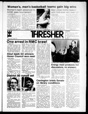 The Rice Thresher (Houston, Tex.), Vol. 67, No. 25, Ed. 1 Thursday, February 21, 1980