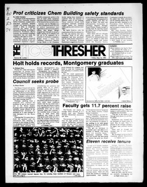 Primary view of object titled 'The Rice Thresher (Houston, Tex.), Vol. 68, No. 1, Ed. 1 Friday, May 16, 1980'.