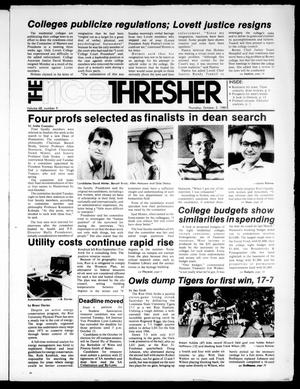 The Rice Thresher (Houston, Tex.), Vol. 68, No. 9, Ed. 1 Thursday, October 2, 1980