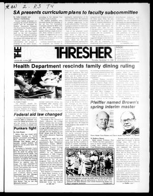 Primary view of object titled 'The Rice Thresher (Houston, Tex.), Vol. 68, No. 15, Ed. 1 Thursday, November 13, 1980'.