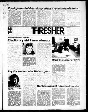 The Rice Thresher (Houston, Tex.), Vol. 68, No. 27, Ed. 1 Thursday, March 19, 1981