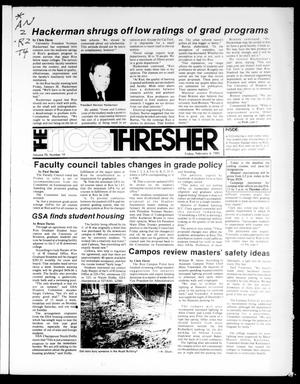 Primary view of object titled 'The Rice Thresher (Houston, Tex.), Vol. 70, No. 19, Ed. 1 Friday, February 4, 1983'.