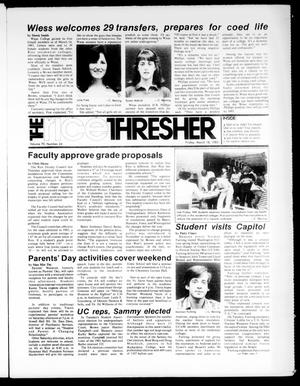 The Rice Thresher (Houston, Tex.), Vol. 70, No. 24, Ed. 1 Friday, March 18, 1983