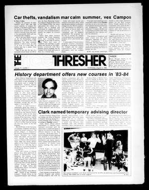The Rice Thresher (Houston, Tex.), Vol. 71, No. 1, Ed. 1 Wednesday, August 3, 1983
