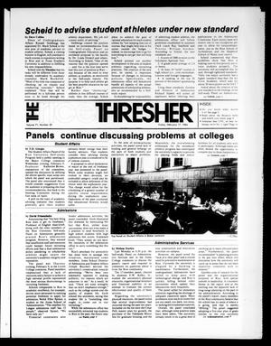 The Rice Thresher (Houston, Tex.), Vol. 71, No. 20, Ed. 1 Friday, February 17, 1984