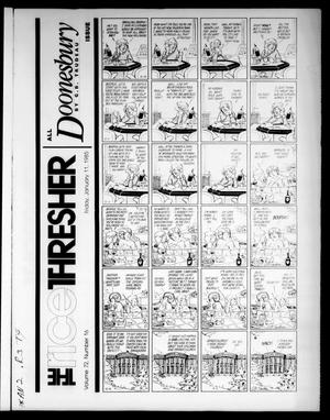 The Rice Thresher (Houston, Tex.), Vol. 72, No. 16, Ed. 1 Friday, January 11, 1985