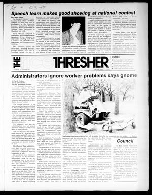 Primary view of object titled 'The Rice Thresher (Houston, Tex.), Vol. 72, No. 41, Ed. 1 Tuesday, April 23, 1985'.
