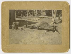 Primary view of object titled '[Photograph of a Hay Baler]'.