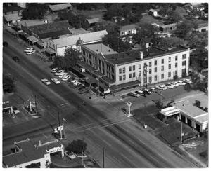 [Photograph of an Aerial View of a Fredericksburg, TX]