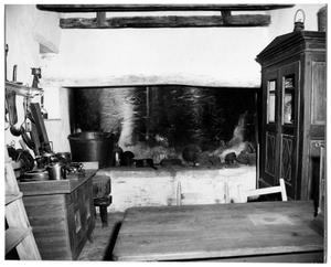 Primary view of object titled '[Photograph of a Kitchen]'.
