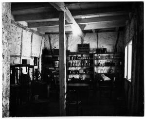 Primary view of object titled '[Photograph of the Front Room in the Pioneer Museum]'.