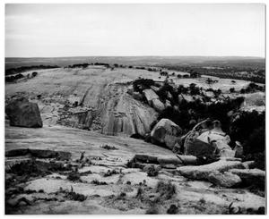 Primary view of object titled '[Photograph of Enchanted Rock]'.