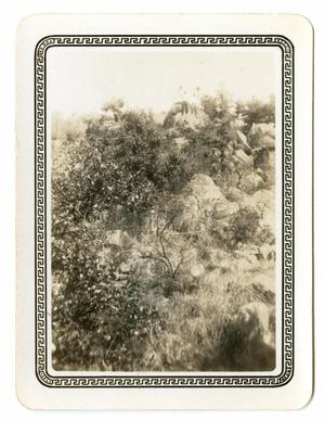 Primary view of object titled '[Photograph of Two Men on Top of  a Hill]'.