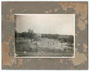 Primary view of object titled '[Photograph of the Palo Alto School]'.