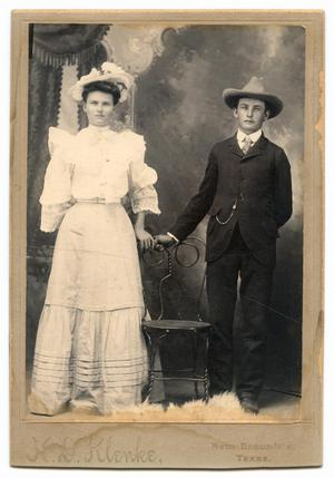 Primary view of object titled '[Portrait of Christian and Louise Jentsch]'.