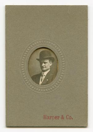 Primary view of object titled '[Miniature Portrait of Emil Gammenthaler]'.