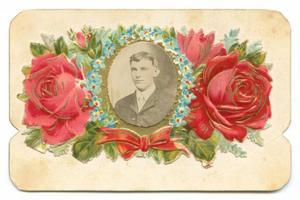 [Miniature Portrait of Arnold Gammenthaler in Decorative Holder]