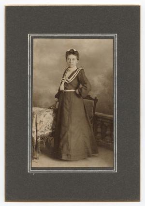 [Portrait of Ana Gammenthaler]