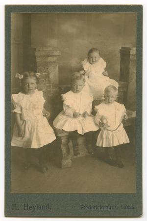 Primary view of object titled '[Portrait of  Kothmann Children]'.