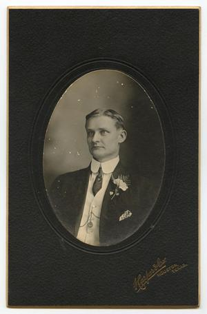 Primary view of object titled '[Portrait of Willie Gammenthaler]'.