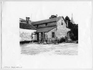 Primary view of object titled '[Photocopy of Photograph of the Kammlah House]'.