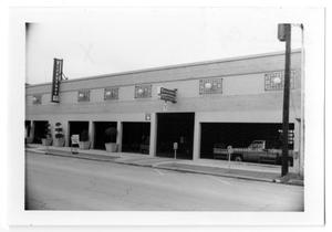 Primary view of object titled '[Photograph of Firestone Building]'.