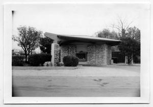 Primary view of object titled '[Photograph of Drive-Thru at Security State Bank]'.