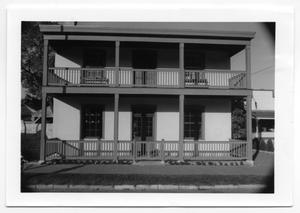 Primary view of object titled '[Photograph of Koock's Guest House]'.