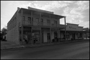 Primary view of object titled '[Photograph of Businesses]'.