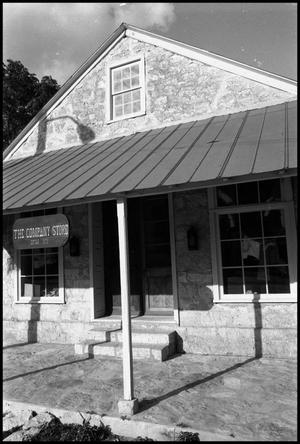 Primary view of object titled '[Photograph of the Company Store in Fredericksburg]'.