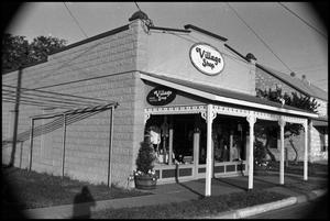 Primary view of object titled '[Photograph of Henke's Village Shop]'.