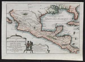 Primary view of Le vieux Mexique, ou, Nouvelle Espagne avec les costes de la Floride : faisant-partic de l'Amerique septentrionale / par N. de Fer.