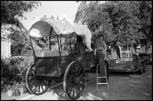 Primary view of object titled '[Photograph of a Float for a Parade in Fredericksburg]'.
