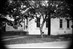 Primary view of object titled '[Photograph of the Vapo Butane Company Building]'.