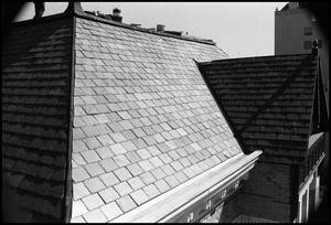 Primary view of object titled '[Photograph of a Roof]'.