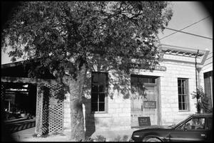 Primary view of object titled '[Photograph of Oma Koock's Restaurant]'.